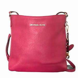 MICHAEL KORS crossbody purse hot pink